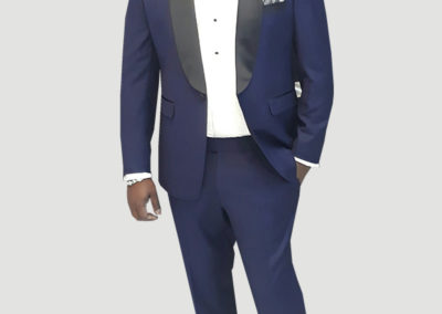 Tailors in Dubai, 2 pc Tuxedo lapel, SuitsandShirts