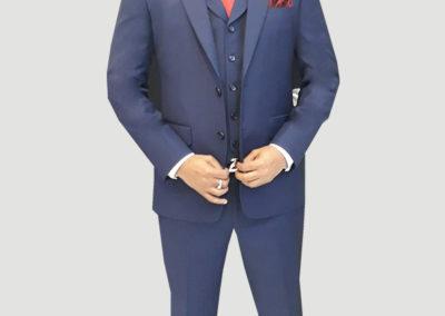 Tailors in Dubai, 3 pc Suit, Vest with lapel, Suits and Shirts