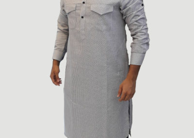 Tailors in Dubai, contrast pathani, SuitsandShirts